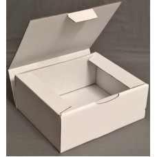 Postal Boxes - White Corrugated