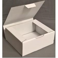 Postal Boxes - White Corrugated