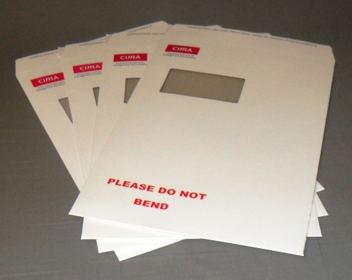 Printed custom made envelopes